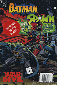Batman / Spawn 2-Pack (Front)