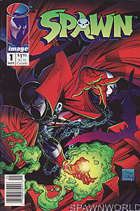 Spawn 1 (Newsstand Edition)