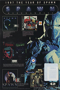 Spawn 64 (newsstand edition) back cover