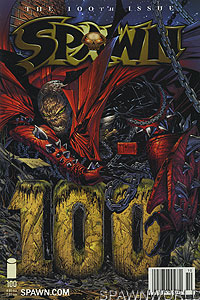 Spawn 100 (Todd McFarlane Cover)