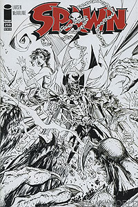 Spawn 259 sketch cover
