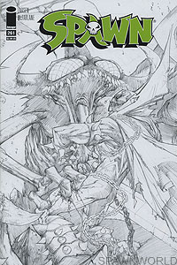 Spawn 261 (sketch cover)
