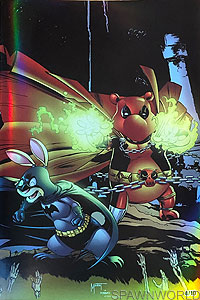 Do You Pooh - Batman/Spawn War Devil homage