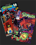 Spawn Comics and Toys